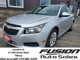 Used 2014 Chevrolet Cruze 1LT-REAR CAMERA-REMOTE START-BLUETOOTH for sale in Tilbury, ON