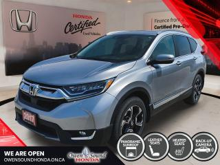 Used 2017 Honda CR-V Touring for sale in Owen Sound, ON