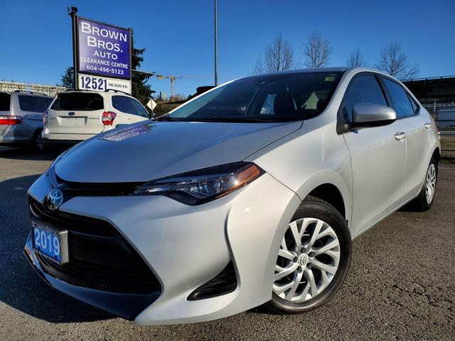 2019 Toyota Corolla SE, LOCAL, NO ACCIDENTS, 1 OWNER