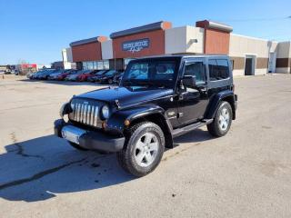 Used 2008 Jeep Wrangler Sahara 2dr 4WD 2 Door for sale in Steinbach, MB