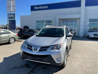 Used 2015 Toyota RAV4 LTD NAV/LEATHER/PANOROOF/HEATEDSEATS/BACKUPCAM for sale in Edmonton, AB