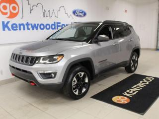 Used 2018 Jeep Compass Trailhawk | 4x4 | Leather | Low KM | Great Shape! for sale in Edmonton, AB