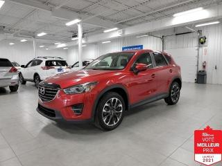 Used 2016 Mazda CX-5 GT AWD - CUIR + TOIT + JAMAIS ACCIDENTE !!! for sale in Saint-Eustache, QC