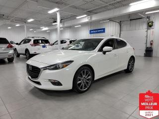 Used 2018 Mazda MAZDA3 Sport GT SPORT - CUIR + TOIT + JAMAIS ACCIDENTE !!! for sale in Saint-Eustache, QC