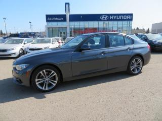 Used 2017 BMW 3 Series 330i xDrive/AWD/NAV/SUNROOF/LEATHER for sale in Edmonton, AB