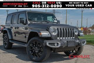 New 2021 Jeep Wrangler 4xe Unlimited Sahara   Cold Weather   Keyless Entry for sale in Hamilton, ON