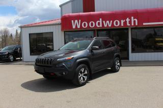 Used 2016 Jeep Cherokee Trailhawk for sale in Kenton, MB