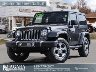 Used 2018 Jeep Wrangler JK | LEASE RETURN Sahara for sale in Niagara Falls, ON