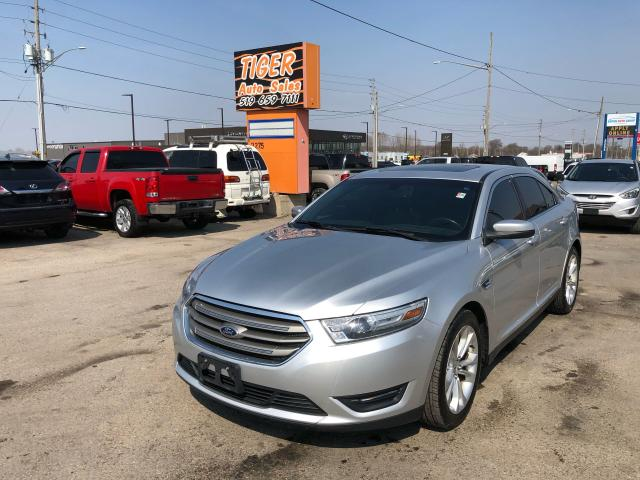 2013 Ford Taurus SEL*LEATHER*ONLY 85KMS*AWD*CERTIFIED