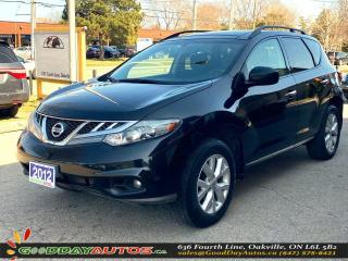 Used 2012 Nissan Murano SV|NO ACCIDENT|PANO SUNROOF|AWD|CERTIFIED for sale in Oakville, ON