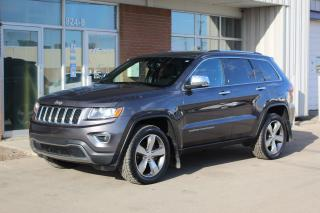 Used 2014 Jeep Grand Cherokee Limited LIMITED 4x4 - NAV - HEATED STEERING WHEEL AND SEATS for sale in Saskatoon, SK