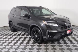 Used 2019 Honda Pilot Black Edition AWD | LEATHER | SUNROOF | NAVI | REAR ENTERTAINMENT for sale in Huntsville, ON