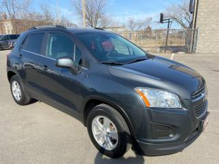 Used 2016 Chevrolet Trax LT  ** AWD, SUNROOF, BACK CAM, AUTOSTART  ** for sale in St Catharines, ON