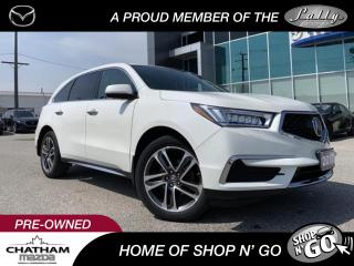 Used 2017 Acura MDX Navigation Package SALE PENDING for sale in Chatham, ON