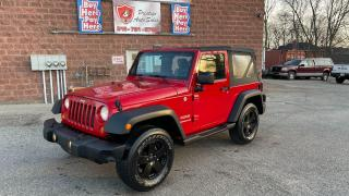 2011 Jeep Wrangler Sport/4X4/3.8L/NO ACCIDENTS/SAFETY INCLUDED