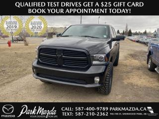 Used 2017 RAM 1500 SPORT for sale in Sherwood Park, AB