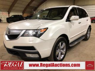 Used 2013 Acura MDX Tech 4D Utility AWD for sale in Calgary, AB