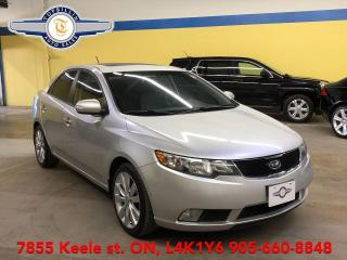 Used 2010 Kia Forte SX Manual, Leather, Roof, 2 Years Warranty for sale in Vaughan, ON