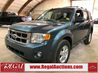 Used 2010 Ford Escape XLT 4D Utility AWD for sale in Calgary, AB