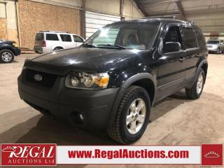 Used 2006 Ford Escape XLT 4D Utility AWD for sale in Calgary, AB