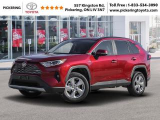 New 2021 Toyota RAV4 Hybrid Limited AWD for sale in Pickering, ON
