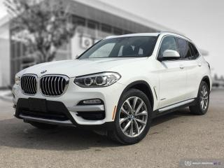 Used 2018 BMW X3 xDrive30i Enhanced! Executive Interior Package! for sale in Winnipeg, MB