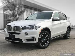 Used 2018 BMW X5 xDrive35i Accident Free! Enhanced! for sale in Winnipeg, MB