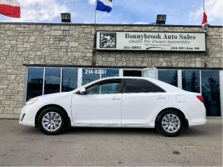 Used 2012 Toyota Camry LE/CAR STARTER/BLUETOOTH/CLEAN CARFAX/ for sale in Calgary, AB