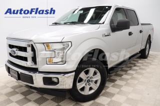 Used 2016 Ford F-150 *XLT *4X4 *SUPER-CREW *V8 *5.0L *TONNEAU-COVER for sale in Saint-Hubert, QC