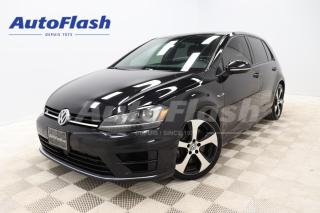 Used 2017 Volkswagen Golf R AWD *2.0T *292HP *DSG *CAMERA *GPS *CRUISE for sale in Saint-Hubert, QC
