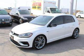 Used 2018 Volkswagen Golf R 2.0T Manual 4MOTION for sale in Whitby, ON