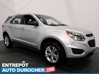 Used 2016 Chevrolet Equinox LS - CAMÉRA DE RECUL - CLIMATISEUR for sale in Laval, QC