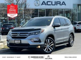 Used 2017 Honda Pilot Touring AWD for sale in Markham, ON