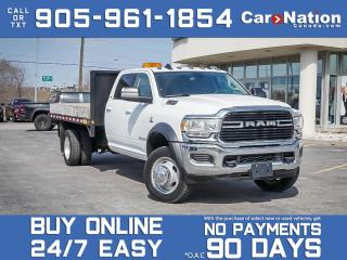 Used 2020 RAM 5500 SLT 4x4 Crew Cab| DUMP TRUCK| CUMMINS DIESEL| for sale in Burlington, ON