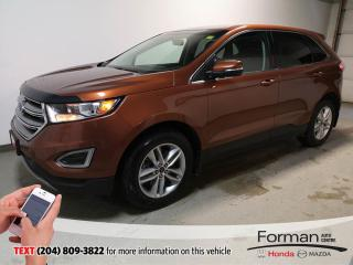 Used 2017 Ford Edge SEL Warranty N.Tires Rmt Start Loaded Local for sale in Brandon, MB