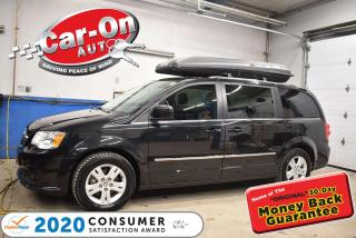 Used 2017 Dodge Grand Caravan Crew Plus | Leather | DVD | Navigation | for sale in Ottawa, ON