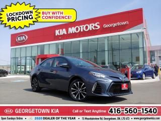 Used 2017 Toyota Corolla XSE   1 OWNR   CLN CRFX   LTHR   SUNROOF   38K  BT for sale in Georgetown, ON