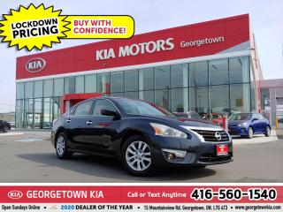 Used 2013 Nissan Altima S | BLUETOOTH | PWR GROUP | CRUISE | PUSH START for sale in Georgetown, ON
