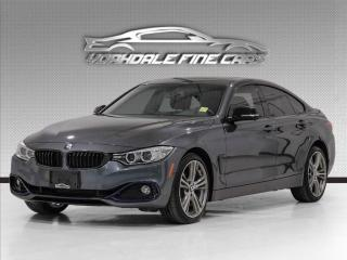 Used 2016 BMW 4 Series 428i xDrive Gran Coupe, Navi, Cam, Red Leather for sale in Concord, ON