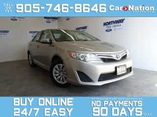 Used 2014 Toyota Camry LE | BLUETOOTH | REAR CAM | TOUCHSCREEN | ONLY 66K for sale in Brantford, ON