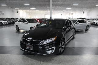 Used 2011 Kia Optima HYBRID NO ACCIDENTS I LEATHER I REAR CAM I PUSH START I BT for sale in Mississauga, ON
