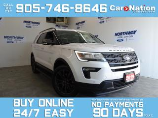 Used 2019 Ford Explorer XLT APPEARANCE PKG | ROOF | NAV | LEATHER | DVDS for sale in Brantford, ON