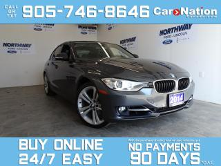 Used 2014 BMW 3 Series 328i | XDRIVE | LEATHER | ROOF | NAV | ONLY 54 KM! for sale in Brantford, ON