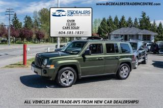 Used 2007 Jeep Patriot 4WD Sport, Heated Seats, Local, Clean! for sale in Surrey, BC