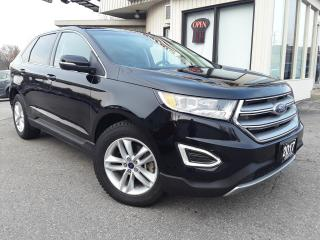 Used 2017 Ford Edge SEL AWD - LEATHER! NAV! BACK-UP CAM! PANO ROOF! for sale in Kitchener, ON