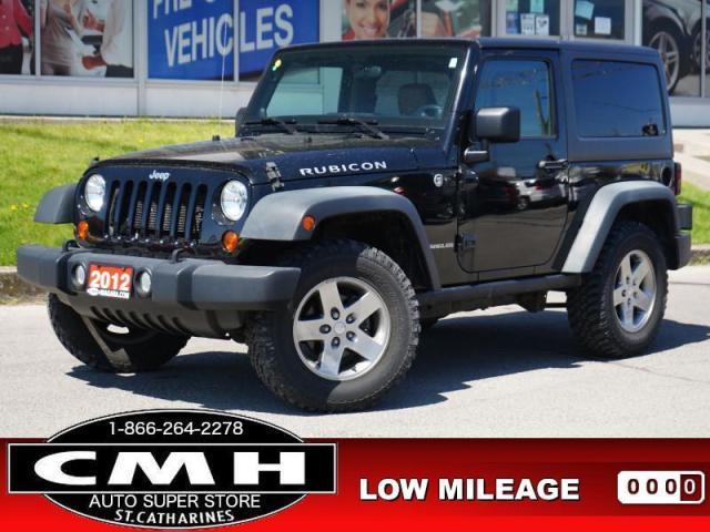 2012 Jeep Wrangler Rubicon  4X4 NAV LEATH HTD-SEATS 17-AL