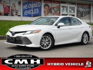 Used 2018 Toyota Camry HYBRID XLE  NAV LANE-DEP ROOF LEATH 18-AL for sale in St. Catharines, ON