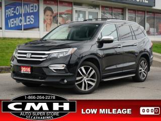 Used 2016 Honda Pilot Touring  NAV ROOF LEAT HTD-S/W P/GATE  20-AL for sale in St. Catharines, ON