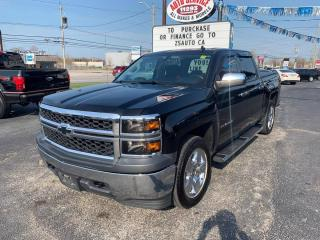 Used 2014 Chevrolet Silverado 1500 Work Truck 1WT Crew Cab 4WD for sale in Windsor, ON