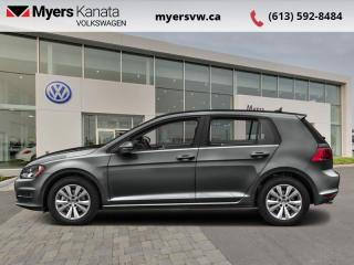 Used 2017 Volkswagen Golf Comfortline  - Leather Seats for sale in Kanata, ON